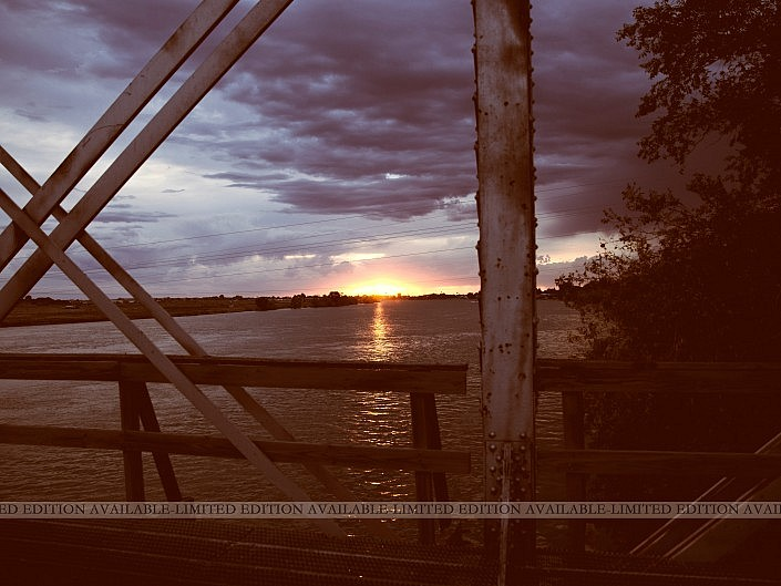 MBPhotography - Twin Falls, ID - Landscape Photography - Train Bridge Sunset, Burley ID