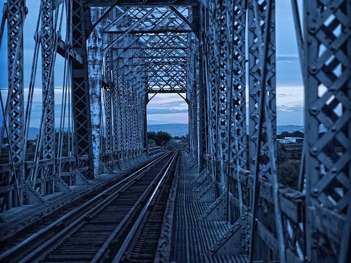 MBPhotography - Twin Falls, ID - Landscape Photography - Burley, ID Train Bridge