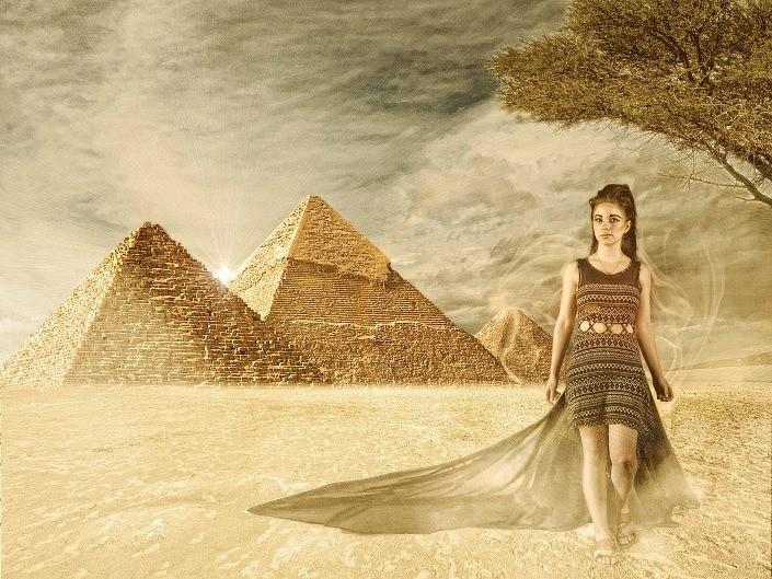 MBPhotography - Twin Falls, ID Model Photography - portrait composite - karissa