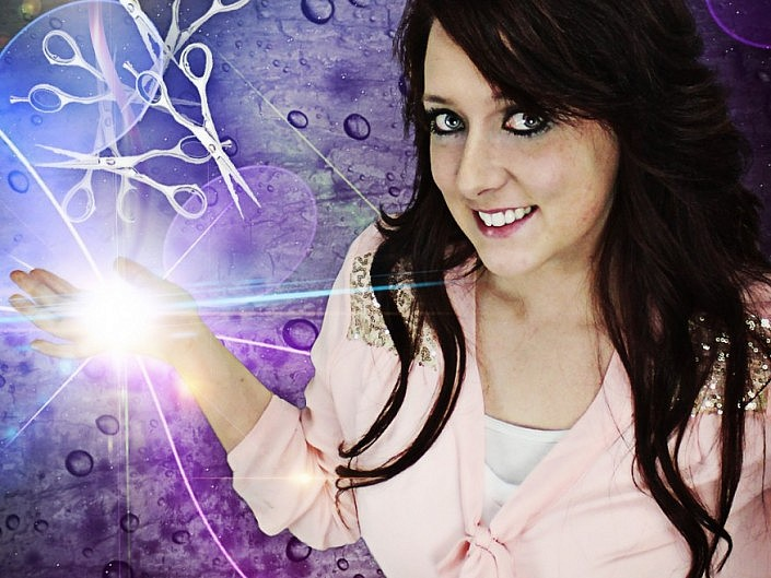 MBPhotography - Twin Falls, ID Model Photography - portrait composite - sheryll